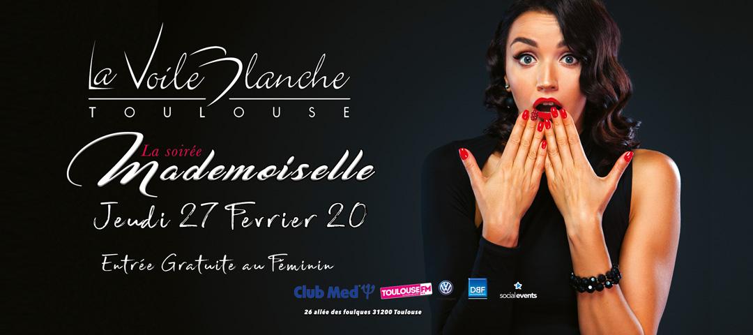Soirée Mademoiselle - Jeudi 27 février